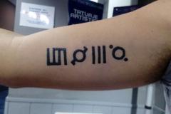 Tatuaje de henna en Madrid
