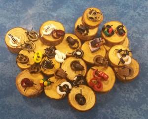Falsas dilataciones, aros, coco, madera, etc