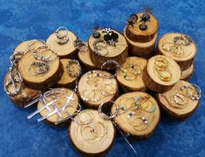 Pendientes para piercing de lóbulo