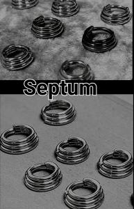 Pendientes para piercing septum