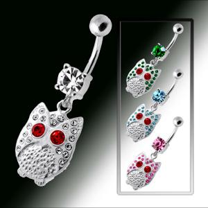Nuevos modelos para el ombligo en acero y plata
