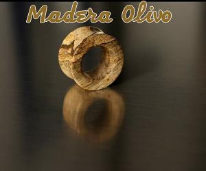 piercing-eDilataciones de madera de olivo
