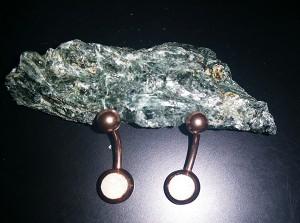 Pendientes para piercing de ombligo