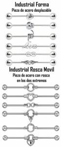 Piercing para industrial