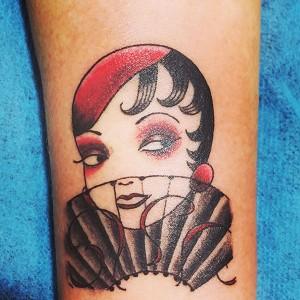Tatuaje de chica