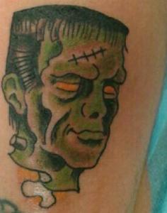 Tatuaje de Frankestein