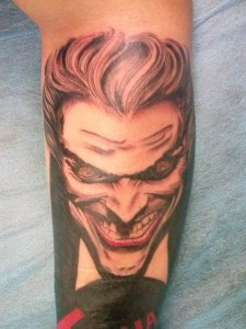 Tatuaje de Joker