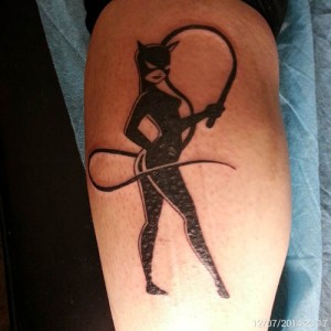 Tatuaje de Cat Woman