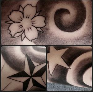 Tatuaje de estrella