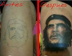 Tatuaje del Ché Guevara