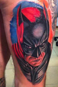 Tatuaje de Batman realizado por Juanma en nuestro centro de Madrid