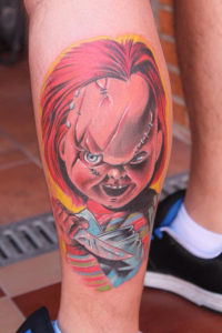 Tatuaje de Chuky