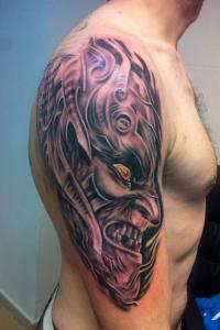 Tatuaje de demonio