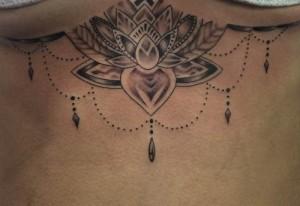 Tatuaje de collar