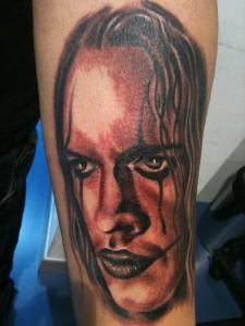 Tatuaje de el Cuervo