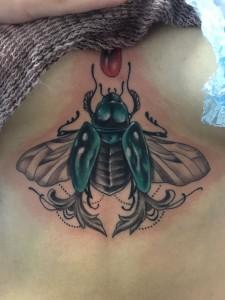 Tatuaje de mosca