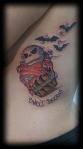 Tatuaje de dibujo animado Sweet Dreams