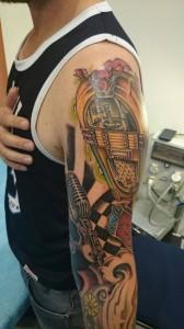 Tatuaje de juke box