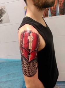 Tatuaje en hombro