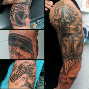 Collage de tatuajes