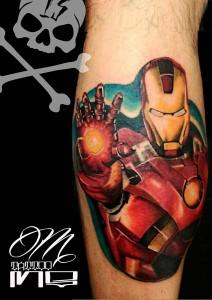 Tatuaje de Iron Man