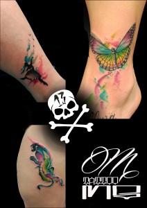 Tatuaje de animales varios
