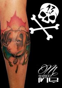 Tatuaje de perro