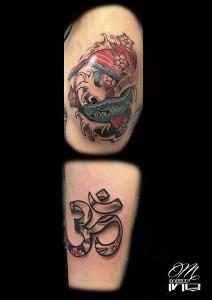 Tatuaje de carpa