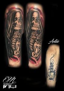 Tatuaje de muerte