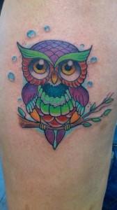 Tatuaje de búho
