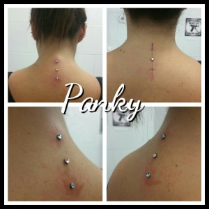 Piercing microdermal