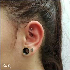Piercing anti-helix