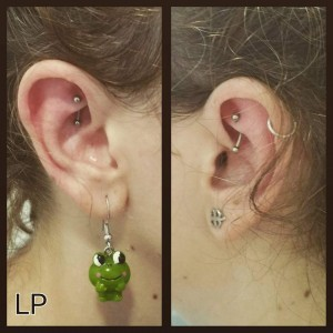 Piercing anti helix