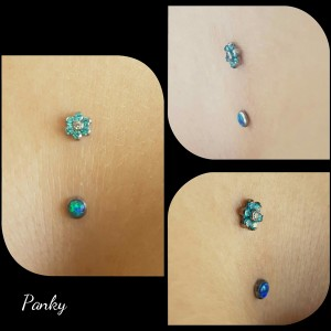 Piercing intradermal
