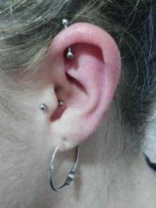 Piercing  lóbulo