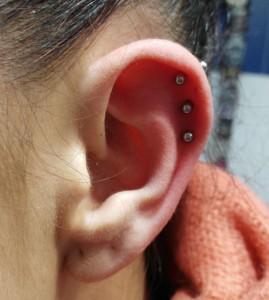 Piercing  triple