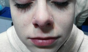 Piercing nostril