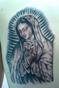Tatuaje de Virgen