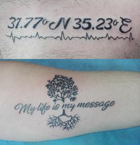 Tatuaje varios realizados en nuestro centro de Montera de Madrid