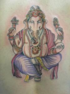 Tatuaje de ganhesa
