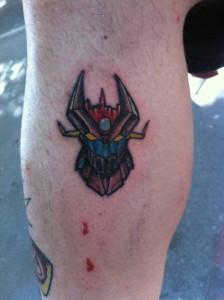 Tatuaje de Mazinger