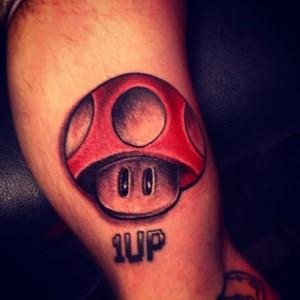 Tatuaje de seta