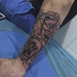 Tatuaje de máscaras