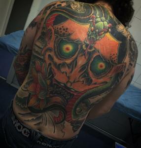 Tatuaje de espalda entero