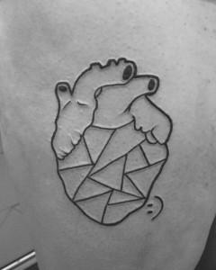 Tatuaje de un corazón