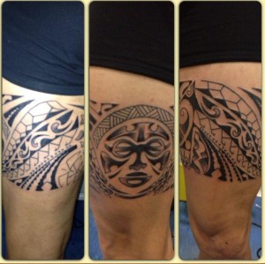 Tatuaje maorí