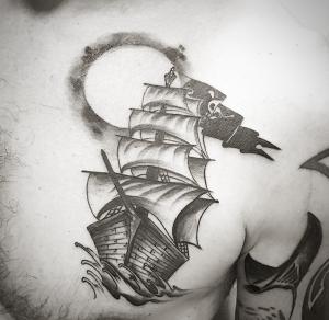 Tatuaje de barco