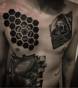 Tatuajes varios realizado en nuestro centro de Vaguada de Madrid
